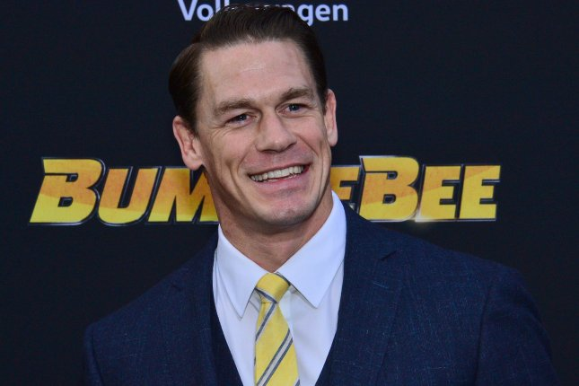 WWE star and actor John Cena may potentially star in director James Gunn's new Suicide Squad film. File Photo by Jim Ruymen/UPI