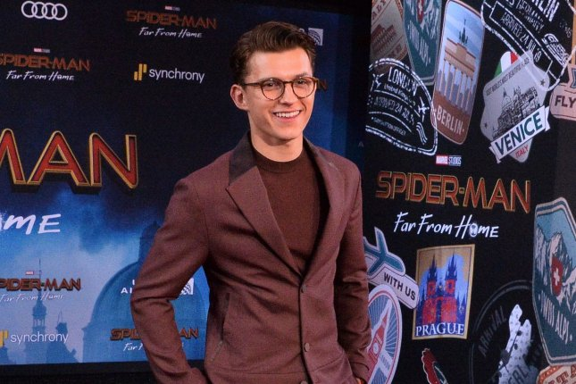 Spider-Man: Far From Home star Tom Holland. The Marvel epic earned a record setting $39.3 million on Tuesday. Photo by Jim Ruymen/UPI