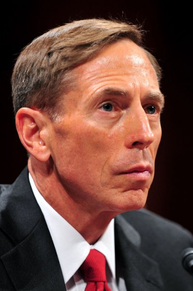 General David Petraeus, the former military commander in Iraq and Afghanistan who wrote the army's counter-insurgency manual is now the director of the CIA. UPI/Kevin Dietsch