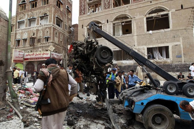 Houthi rebels and their allies are still in control of the capital, Sanaa. File Photo by Mohammad Abdullah/UPI