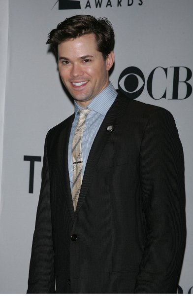 Andrew Rannells arrives for the 2011 Tony Awards Meet the Nominees Press Reception at the Millenium Broadway Times Square Hotel in New York on May 4, 2011. UPI /Laura Cavanaugh