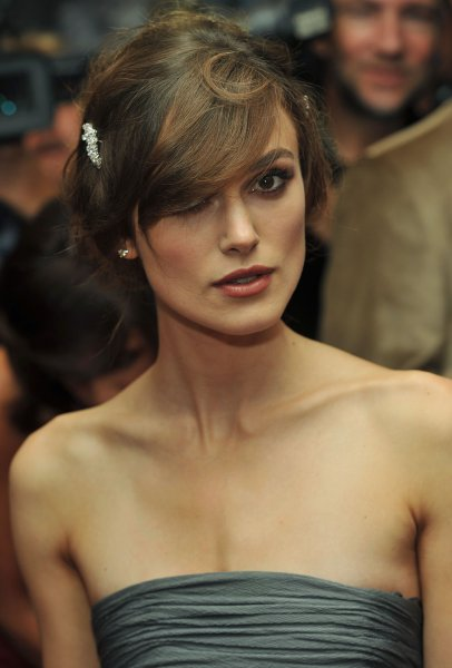Keira Knightley arrives for the Toronto International Film Festival gala premiere of The Duchess at Roy Thomson Hall in Toronto, Canada on September 7, 2008. (UPI Photo/Christine Chew)