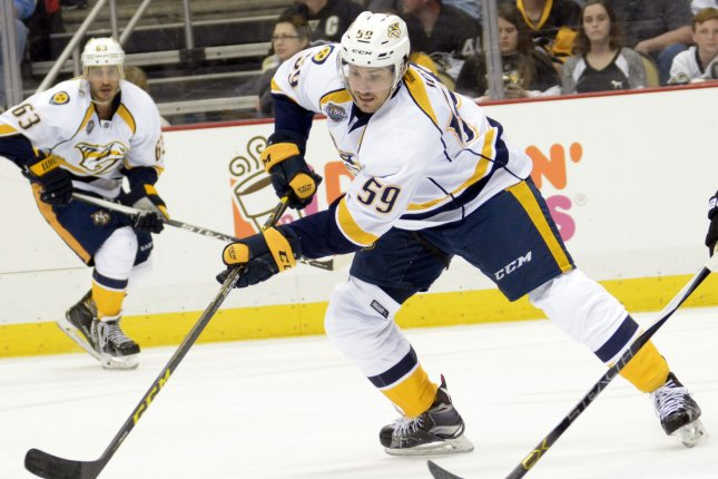 Predators top scorer Johansen sidelined after emergency surgery