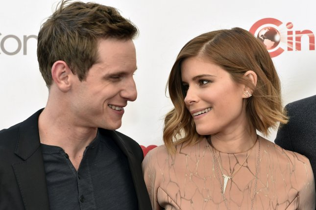 Jamie Bell and Kate Mara attend the 20th Century Fox preview at Caesars Palace during CinemaCon on April 23, 2015. The pair tied the knot over the weekend. File Photo by David Becker/UPI