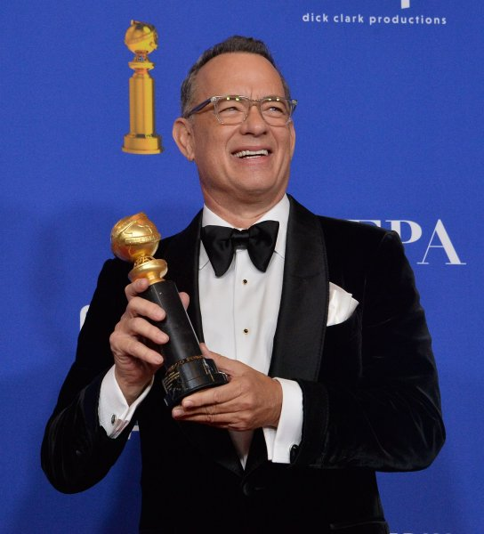 Tom Hanks' movie Greyhound is set to debut on Apple TV+ instead of theaters. File Photo by Jim Ruymen/UPI