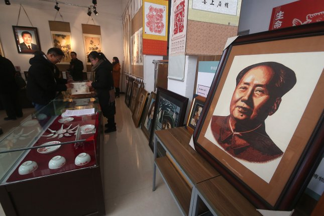 Valuable stolen Mao Zedong scroll found cut in half in Hong Kong