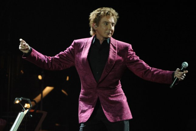 American singer Barry Manilow perfoms at O2 Arena in London on May 4, 2011. UPI/Rune Hellestad