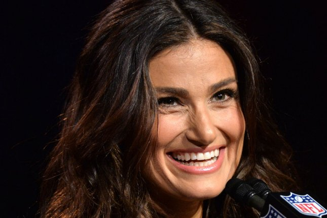 Idina Menzel will star on a new Ellen DeGeneres-produced comedy series. Photo by Kevin Dietsch/UPI