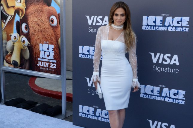 Cast member Jennifer Lopez, the voice of Shira in the animated motion picture sci-fi comedy Ice Age: Collision Course, attends the premiere at the Zanuck Theater on the 20th Century Fox Studios lot in Los Angeles on July 16, 2016. Photo by Jim Ruymen/UPI