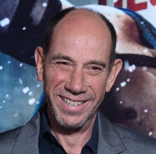 Miguel Ferrer attends the premiere of 300: Rise of an Empire in Los Angeles on March 4, 2014. The actor has died of cancer at the age of 61. File Photo by Jim Ruymen/UPI