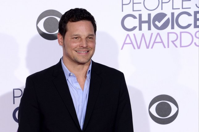 Justin Chambers arrives for the 42nd annual People's Choice Awards at the Microsoft Theater in Los Angeles on January 6, 2016. The actor turns 51 on July 11. File Photo by Jim Ruymen/UPI