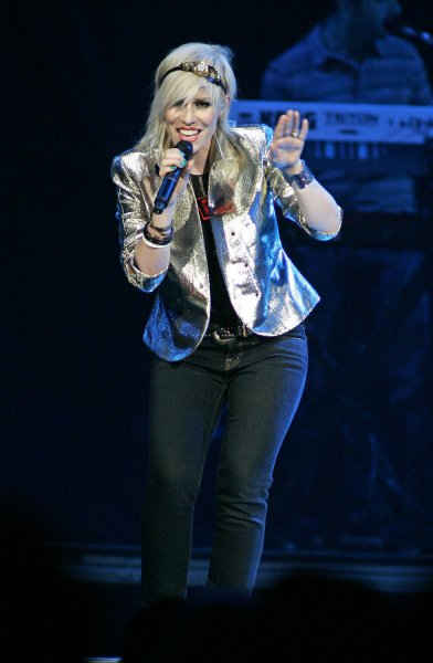Natasha Bedingfield performs in concert at the BankAtlantic Center in Sunrise, Florida on November 1, 2008. (UPI Photo/Michael Bush)