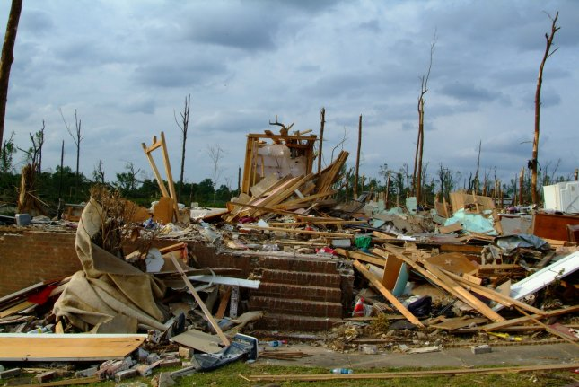 A view of destruction in Alabama after a series of tornadoes in late April 2011. UPI/Adam DuBrowa/FEMA
