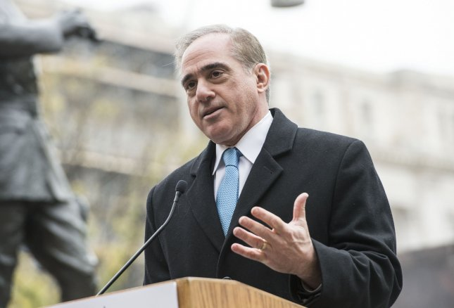 Veterans Affairs Secretary David Shulkin said Sunday he did not resign from his position as secretary of Veterans Affairs when he was replaced by President Donald Trump's White House physician Ronny L. Jackson Wednesday. File Photo by Kevin Dietsch/UPI