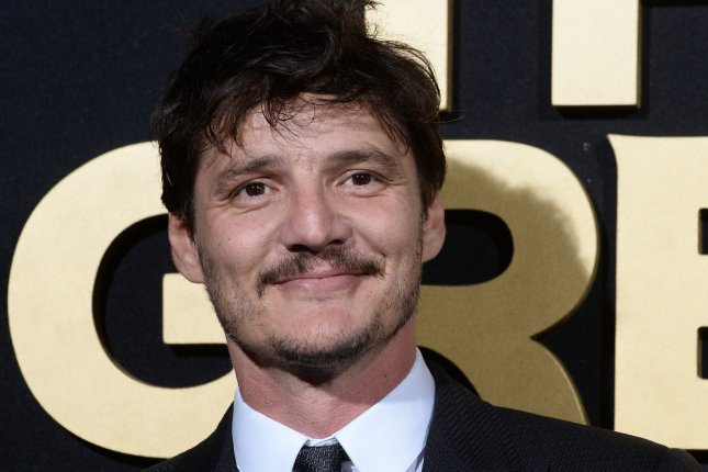 Pedro Pascal is seen on set in Wonder Woman 1984 in a new photo posted by director Patty Jenkins. File Photo by Jim Ruymen/UPI