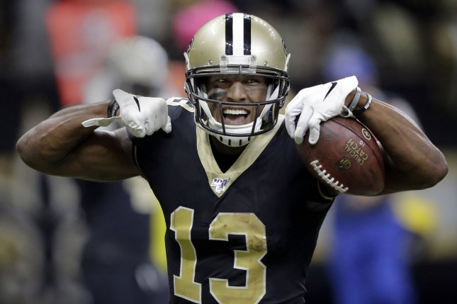 New Orleans Saints wide receiver Michael Thomas has averaged 124 receiving yards in his last four games. Photo by AJ Sisco/UPI