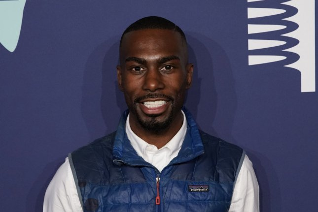 Activist DeRay McKesson is seen at the 2019 Webby Awards in New York City on May 13, 2019. File Photo by John Angelillo/UPI