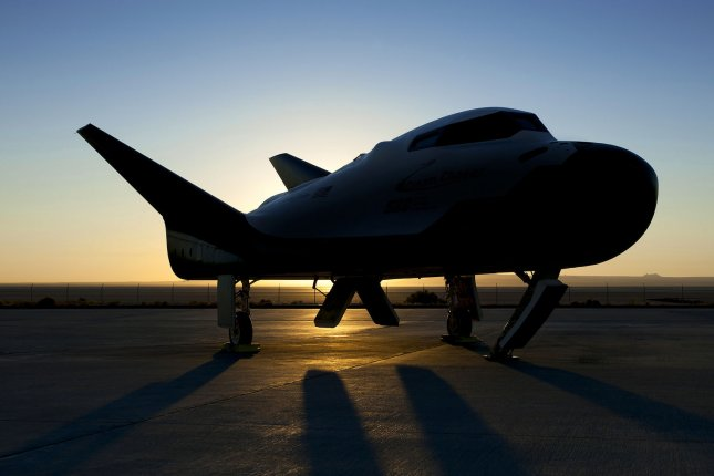 A Dream Chaser prototype is prepared for testing on a runway at NASA's Armstrong Flight Research Center at Edwards Air Force Base in California in 2017. Photo by Ken Ulbrich/NASA