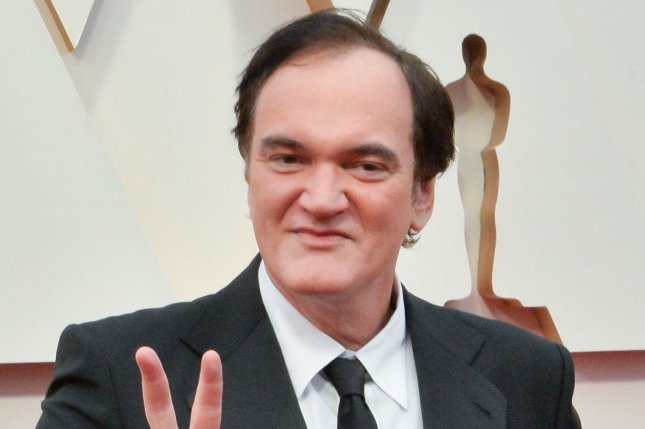 Quentin Tarantino discussed novelizations of films, his son's name and played a movie guessing game on Jimmy Kimmel Live. File Photo by Jim Ruymen/UPI