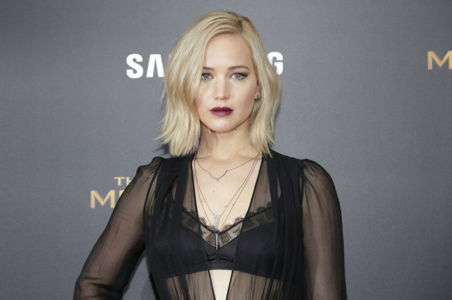 Jennifer Lawrence arrives on the red carpet at The Hunger Games: Mockingjay - Part 2 New York premiere on November 18, 2015. Photo by John Angelillo/UPI