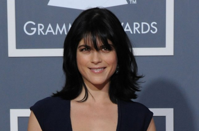Selma Blair at the Grammy Awards on February 13, 2011. The actress showed her support for Cruel Intentions co-star Sarah Michelle Gellar on Instagram. File Photo by Jim Ruymen/UPI