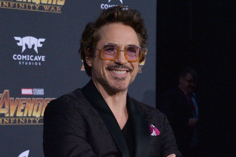 Robert Downey Jr. stars in the new trailer for Avengers: Endgame alongside Chris Evans. File Photo by Jim Ruymen/UPI.
