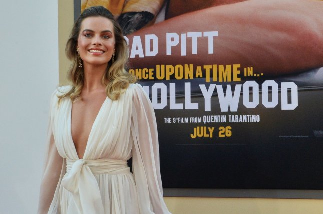 Margot Robbie will present an award Sunday at the Golden Globe Awards. File Photo by Jim Ruymen/UPI