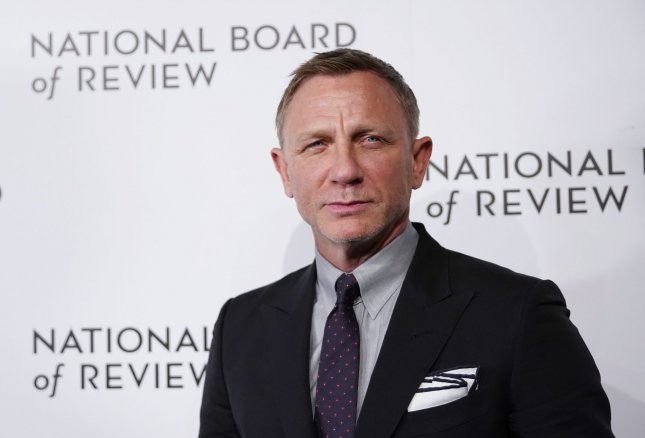 Daniel Craig's No Time to Die will now open in 2021 instead of 2020. File Photo by John Angelillo/UPI