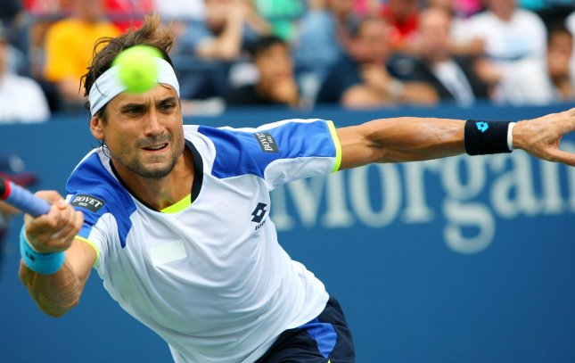 David Ferrer, shown at the 2013 U.S. Open, posted a win Wednesday that advanced him to the quarterfinals of the Malaysian Open. UPI Photo/Monika Graff