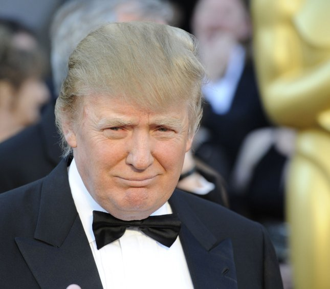 Donald Trump arrives on the red carpet for the 83rd annual Academy Awards at the Kodak Theater in Hollywood on February 27, 2011. UPI/Phil McCarten