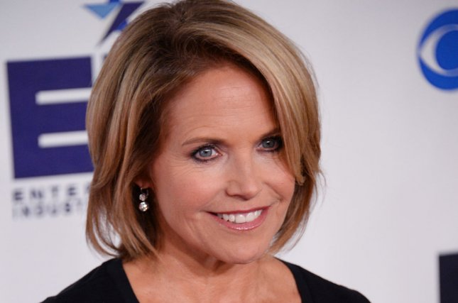 Katie Couric is getting into television production. UPI/Jim Ruymen