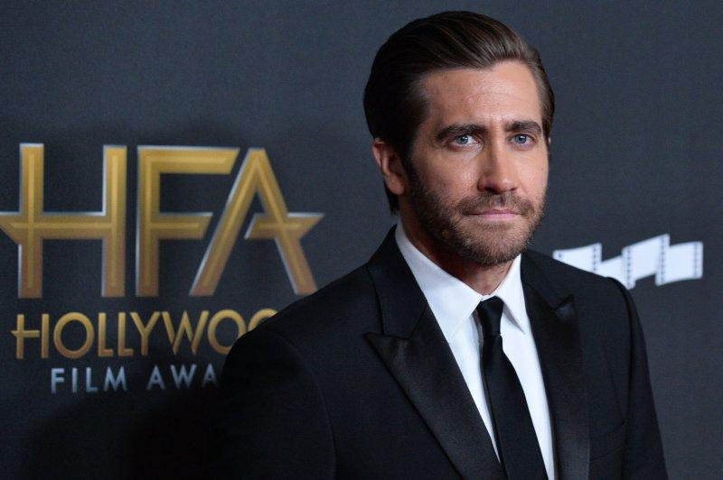 Jake Gyllenhaal attends the Hollywood Film Awards on Sunday. Photo by Jim Ruymen/UPI