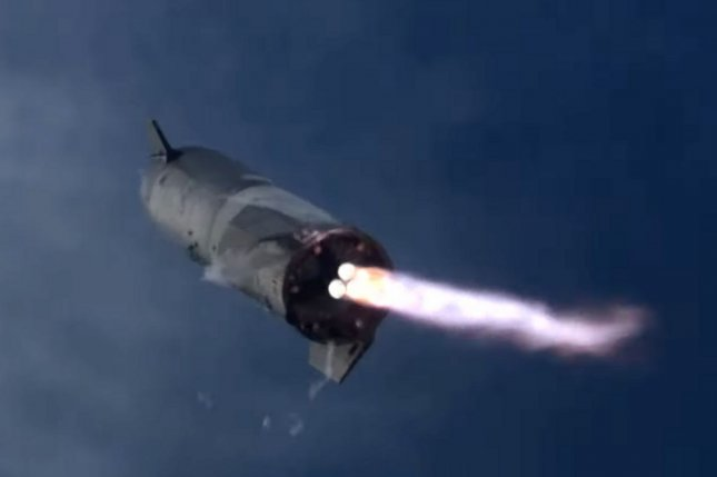 SpaceX completed the first upright landing of the company's deep-space Starship rocket, SN-10, after a test flight March 3, but the vehicle exploded minutes later. Photo courtesy of SpaceX