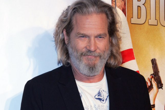 Jeff Bridges arrives for the Big Lebowski Limited Edition Blu-Ray release celebration at the Hammerstein Ballroom in New York on August 16, 2011. UPI /Laura Cavanaugh