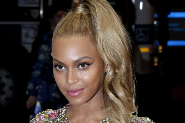 Beyonce is to headline the 2015 Global Citizen Festival in New York Sept. 26. Photo by John Angelillo/UPI