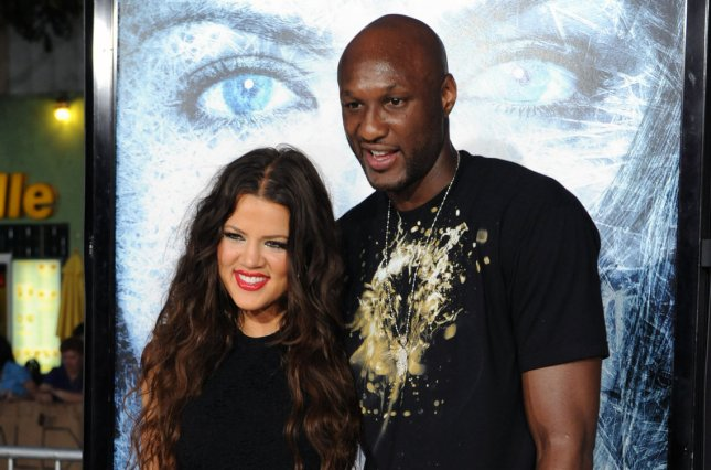 Khloe Kardashian (L) and Lamar Odom at the Los Angeles premiere of Whiteout on September 9, 2009. The estranged couple called off their divorce in October. File Photo by Jim Ruymen/UPI