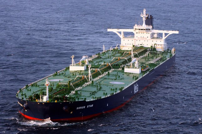 Iran says its exports and production of crude oil are at or near where they were before sanctions were enacted to curb the country's nuclear ambitions. Photo by William S. Stevens/U.S. Navy/UPI
