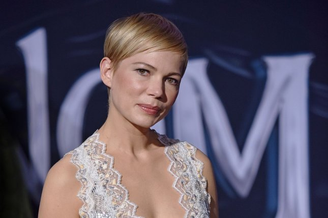 Michelle Williams, who played Jen Lindley on Dawson's Creek, likened the WB series to a factory job in a new interview. File Photo by Christine Chew/UPI