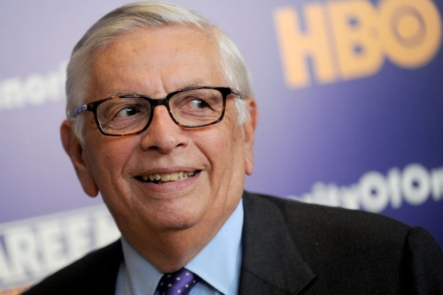 Former NBA commissioner David Stern died Wednesday as a result of a brain hemorrhage. File Photo by Dennis Van Tine/UPI