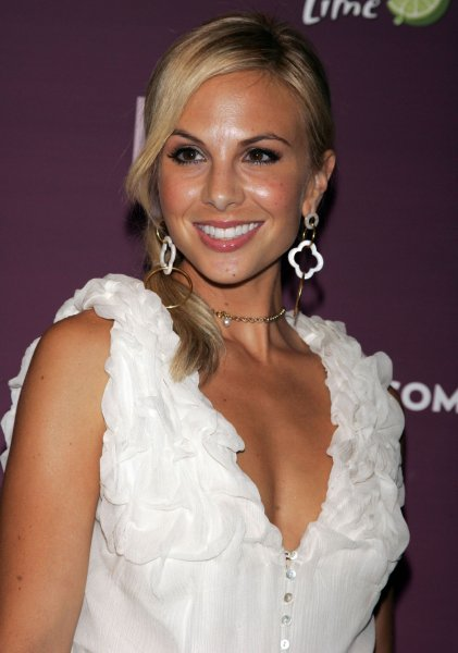 Elisabeth Hasselbeck arrives for the Us Weekly 25 Most Stylish New Yorkers 2008 party at Hudson Terrace in New York on September 12, 2008. (UPI Photo/Laura Cavanaugh)