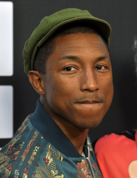 Pharrell Williams attends the Los Angeles premiere of Dope in partnership with the LA Film Fest at Premiere House on 2015. He will appear on stage Wednesday with Little Big Town on the CMT Music Awards. File Photo by Christine Chew/UPI