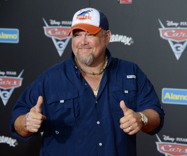 Comedian Larry the Cable Guy said his new special, Remain Seated, does not include any political material because he feels audiences are sick of that stuff. File Photo by Jim Ruymen/UPI