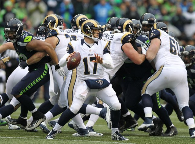 The St. Louis Rams are moving back to Los Angeles. Photo by Jim Bryant/UPI