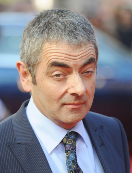 British actor Rowan Atkinson attends the premiere of Johnny English Reborn at Empire, Leicester Square in London on October 2, 2011. UPI/Rune Hellestad