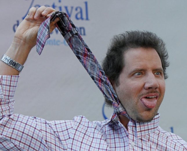 Actor Jamie Kennedy jokes during a photocall for the television show Ghost Whisperer at the 49th Monte Carlo Television Festival in Monte Carlo, Monaco on June 9, 2009. UPI/David Silpa