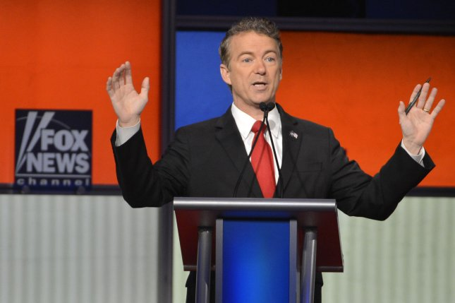 Republican presidential candidate Kentucky Sen. Rand Paul suspended his presidential campaign Wednesday. Photo by Mike Theiler/UPI