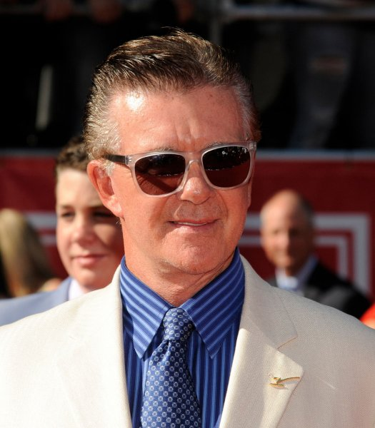 Alan Thicke arrives for the ESPY Awards in Los Angeles on July 11, 2012. The actor died Tuesday. File Photo by Phil McCarten/UPI