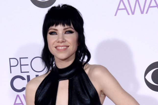Singer Carly Rae Jepsen arrives for the 42nd annual People's Choice Awards at the Microsoft Theater in Los Angeles on January 6, 2016. File Photo by Jim Ruymen/UPI
