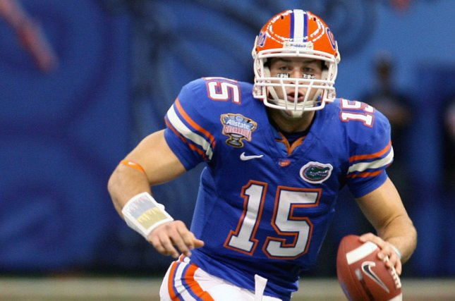 sneakers for cheap dfb65 c6c0f Florida to induct Tim Tebow into Ring of Honor - UPI.com