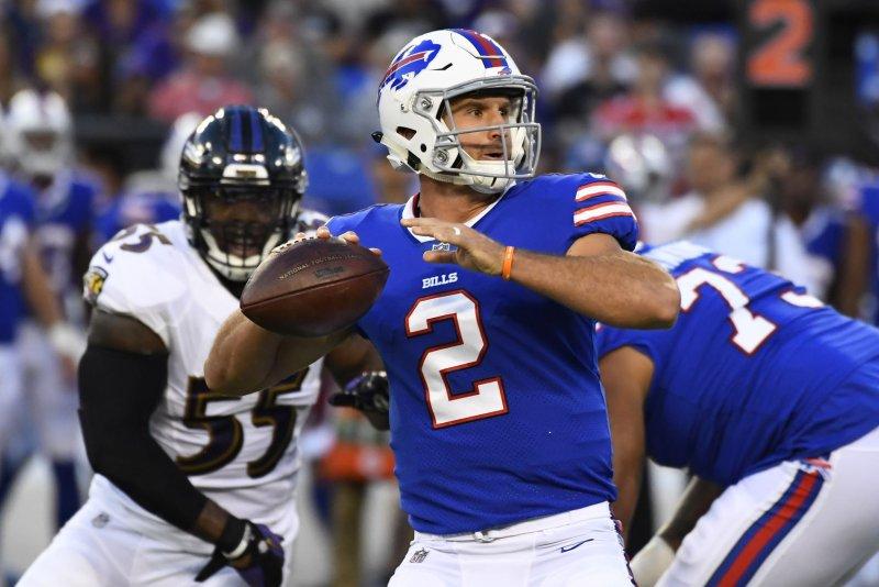 new product afa6c 793e7 A.J. McCarron injury opens door for Buffalo Bills' Josh ...